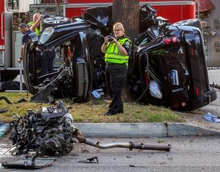 Documenting a fatal crash scene